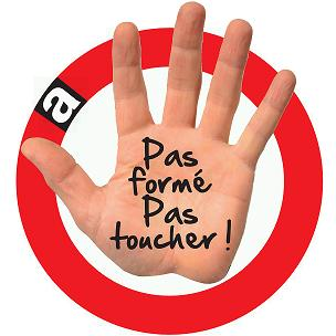 amiante : pas formé pas toucher