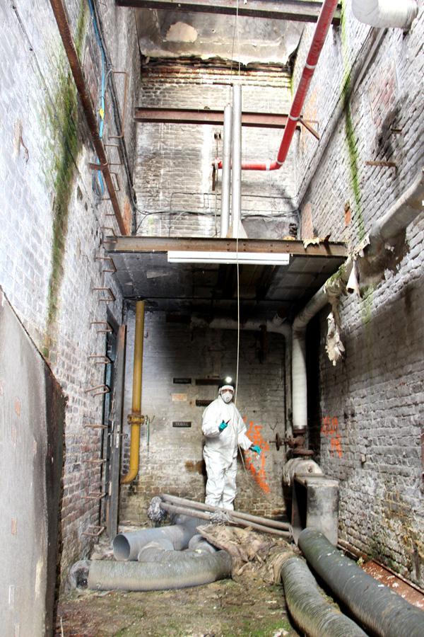 amiante avant demolition